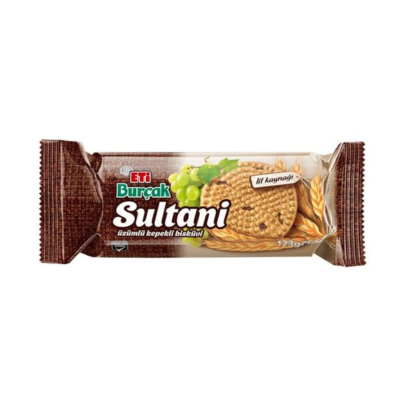 Burcak Sultani Wholemeal Biscuit With Grapes (Uzumlu Kepekli Biskuvi)
