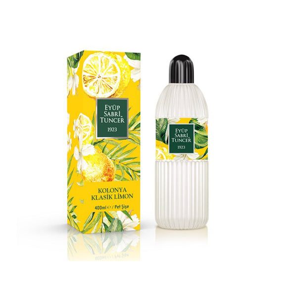 Eyup Sabri Tuncer Turkish Classic Lemon Cologne (Limon Kolonya'sı) 400ml