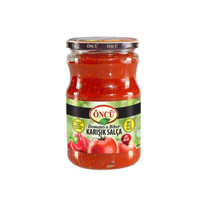 Oncu Tomato and Pepper Mixed Paste (Öncü Karisik Domates ve Biber Salcasi)