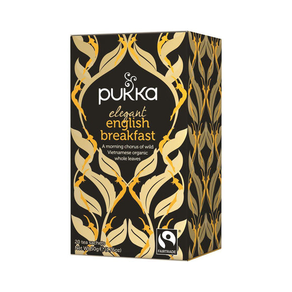 Pukka Elegant Organic English Breakfast Tea (20 Bags)