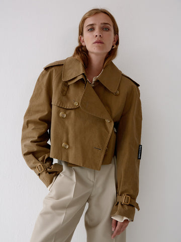 Cropped Trenchcoat
