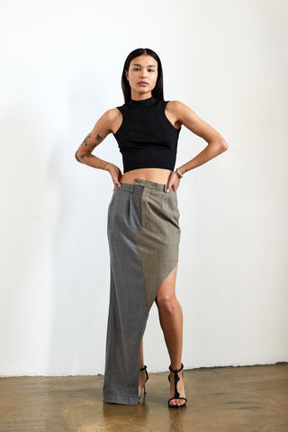 Skirt cut-off leftover Pants 02