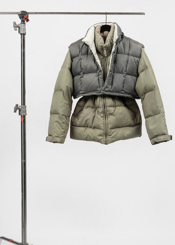 Double Puffer jacket 01 {S/M}