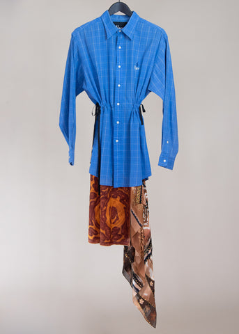 Shirt Dress Scarf 01
