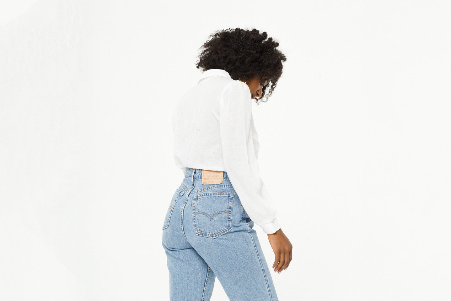 White Top on Levi's