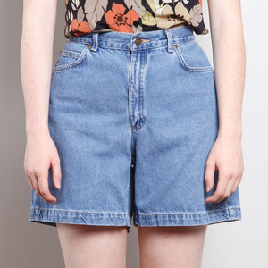 1990s Medium Wash Denim Shorts