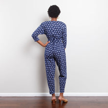 Load image into Gallery viewer, 80s Floral Jumpsuit