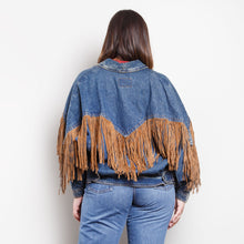 Load image into Gallery viewer, 80s/90s Western Fringe Jacket