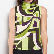 Load image into Gallery viewer, 90s Abstract Sleeveless Top