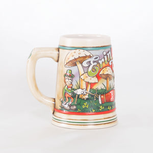 90s Budweiser St Paddy's Day Beer Stein