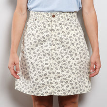 Load image into Gallery viewer, 90s High Waisted Paisley Skirt