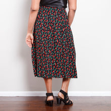 Load image into Gallery viewer, 90s Midi Cherry Skirt