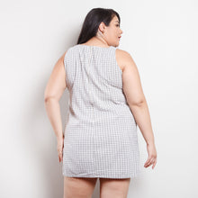 Load image into Gallery viewer, 90s Mini Gingham Dress