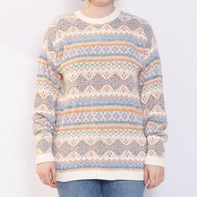 Load image into Gallery viewer, 90s Pink and Gold Sweater