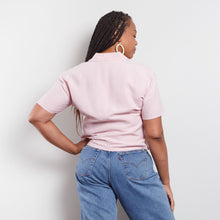 Load image into Gallery viewer, 90s Silk Blend Pink Blouse