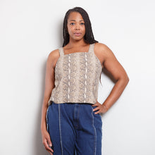 Load image into Gallery viewer, Dana Kay 90s Snakeskin Tank