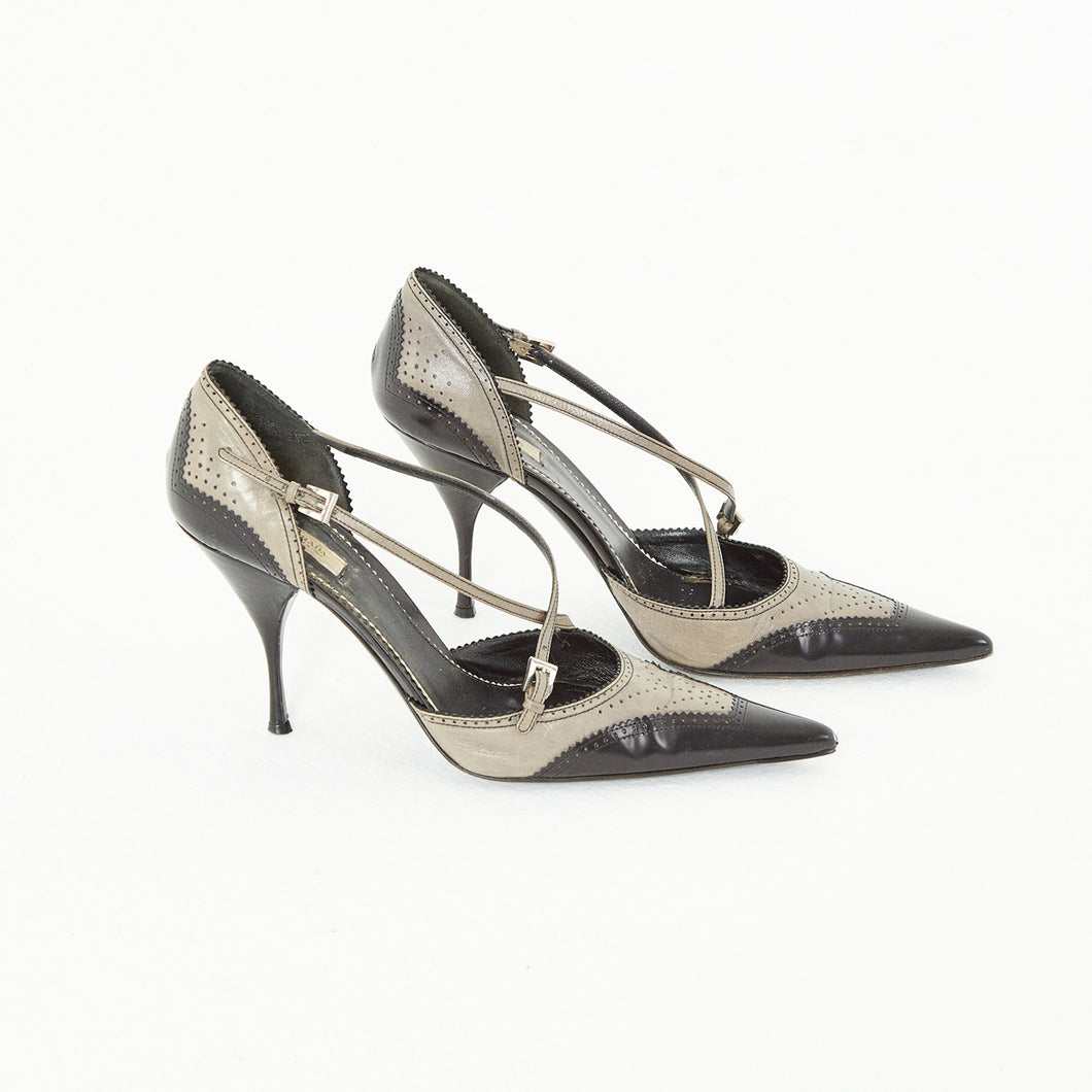 Pointed Prada Shoes