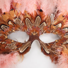 Load image into Gallery viewer, Feather Masquerade Mask