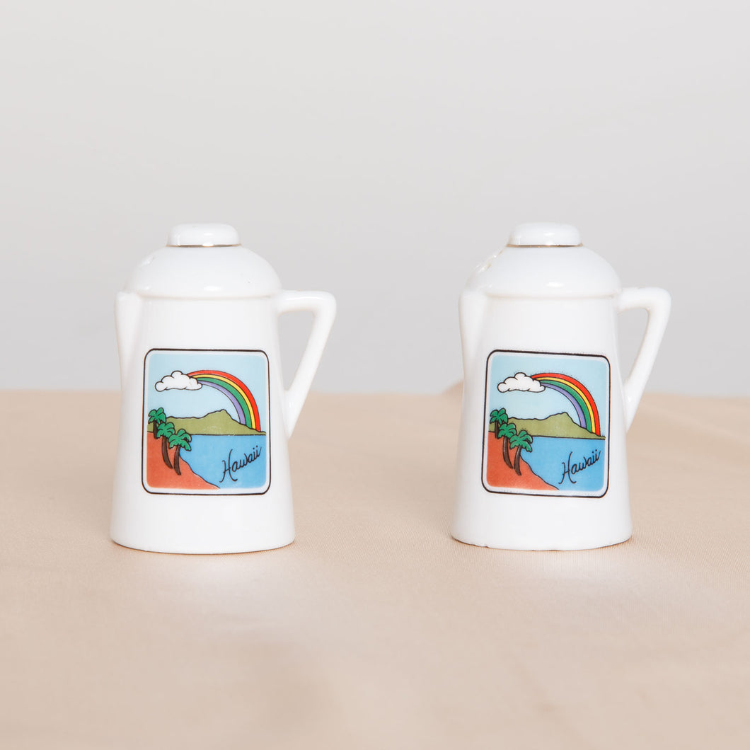 Hawaii Salt and Pepper Shakers