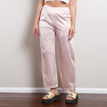 Load image into Gallery viewer, Vintage Pink Satin Pants