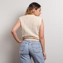 Load image into Gallery viewer, Vintage Pendleton Cream Sweater Vest