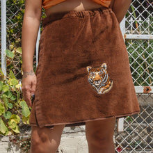 Load image into Gallery viewer, 70s Terrycloth Tiger Skirt
