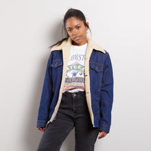 Load image into Gallery viewer, Rare Sears Roebucks Shearling Trucker Jacket