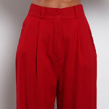 Load image into Gallery viewer, Red Bebe Trousers