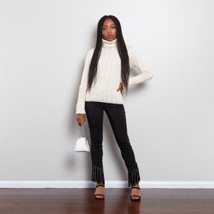 Chunky Knit Wool Turtleneck