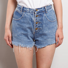 Load image into Gallery viewer, 90s Distressed High Waisted Shorts