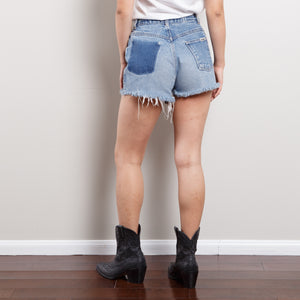 90s Distressed High Waisted Shorts