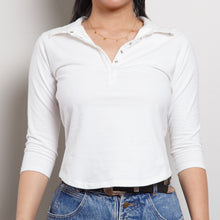Load image into Gallery viewer, 90s Casual White Blouse