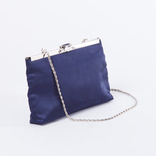 Load image into Gallery viewer, 90s Soft Blue Shoulder Purse