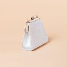 Load image into Gallery viewer, Mini Silver Handbag