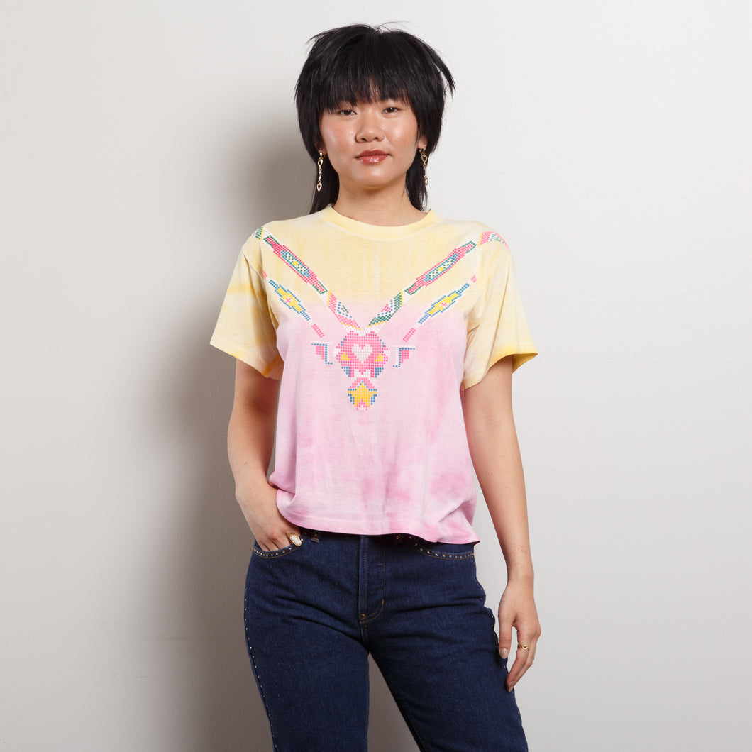 Single Stitch Vintage Tie Dye Top