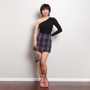 90s Burberry Plaid Skirt