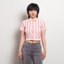 Load image into Gallery viewer, Vintage Stripe Crop Top