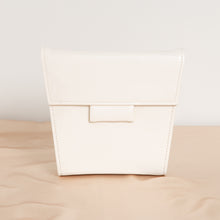 Load image into Gallery viewer, White Leather Shoulder Purse