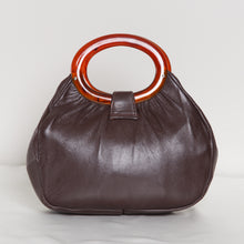 Load image into Gallery viewer, 70s Leather O-Ring Purse