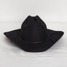 Load image into Gallery viewer, Wool Western Hat in Black