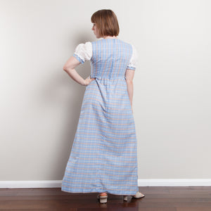 Vintage JC Penney Plaid Dress