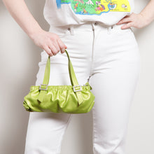 Load image into Gallery viewer, Y2K Lime Mini Purse