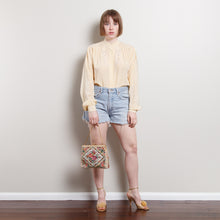 Load image into Gallery viewer, Vintage Silk Turtleneck Blouse