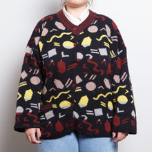 Load image into Gallery viewer, Abstract Art Cardigan Sweater