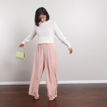 Load image into Gallery viewer, Pastel Pink Gaucho Pants