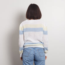 Load image into Gallery viewer, 80s Seaside Striped Knit