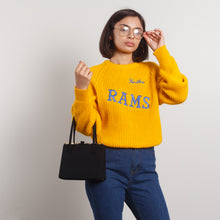 Load image into Gallery viewer, 80s School Spirt Ram's Sweater