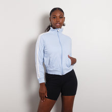 Load image into Gallery viewer, Baby Blue 90s Athletic Jacket