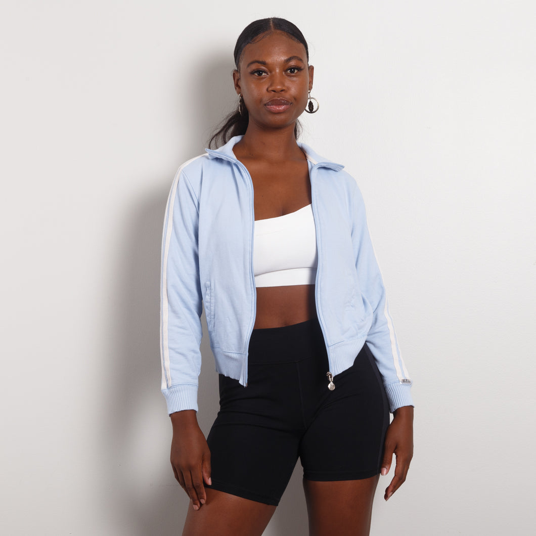 Baby Blue 90s Athletic Jacket