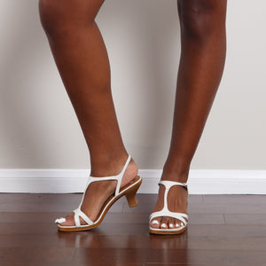 90s No Boundaries White Low Heels